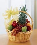 A Traditional Fruit & Gourmet Basket