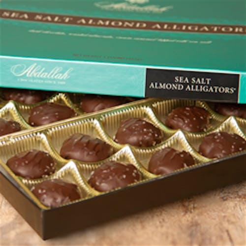 Sea Salt Almond Alligators