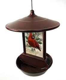 Solar Powered Birdfeeder