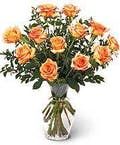 12 Tropicana Rose Bouquet