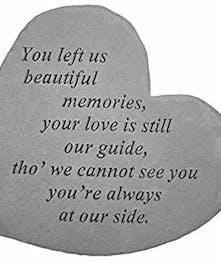 You Left Us Beautiful Memories