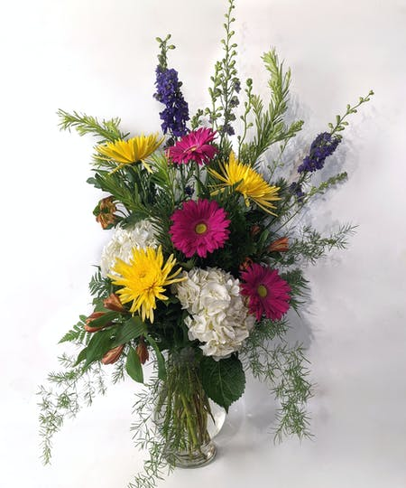 Vase and container arrangements
