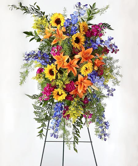 Standing Easel Sprays & Wreaths